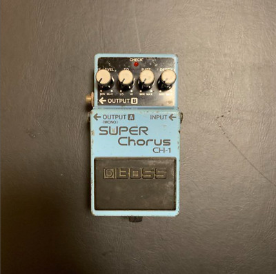 $ CDN82.71 • Buy BOSS CH-1 Guitar Pedal SUPER Chorus  From JAPAN JP Used