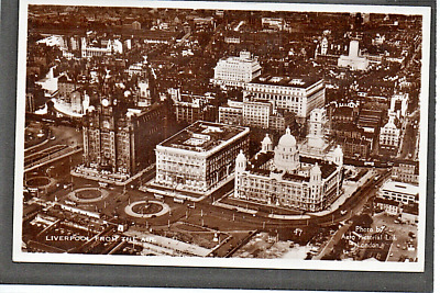£2.55 • Buy Liverpool  Real Photo - Landing Stage From The Air