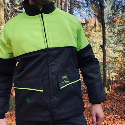 £52.99 • Buy Chainsaw Jacket Prior Class 1 Francital Small Black And Yellow