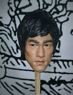 $59.90 • Buy Movable Eyes 1/6 Bruce Lee A Head Sculpt Muscle Body Enterbay Enter The Dragon