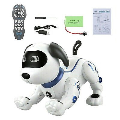 £31.99 • Buy HIGH TECH RC Robot Dog Remote Control Electronic Pet Smart Interactive Stunt Dog