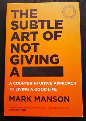 AU15.95 • Buy The Subtle Art Of Not Giving A F*ck : Mark Manson