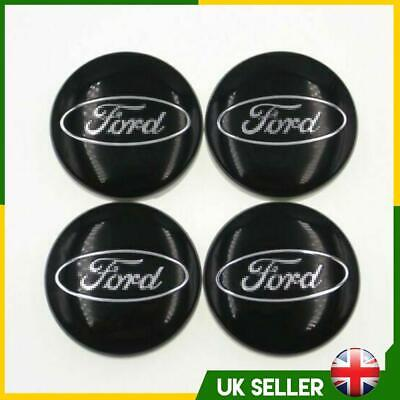 £7.99 • Buy 4pc 54MM Alloy Wheel Centre Caps Hubs For Ford C-MAX S-MAX Focus Mondeo Transit