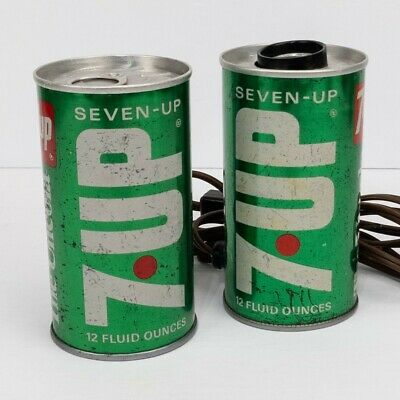 AU50.95 • Buy Vtg 7-UP Seven Up Can Lamp & Music Box Plays Love Story Working