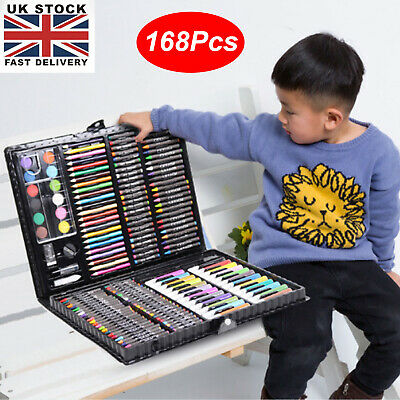 £10.29 • Buy Kids Colouring Set Drawing Set 168PCS Art Case Pencils Painting Childrens Gifts
