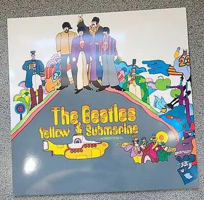 AU39.31 • Buy Vinyl Records The Beatles Yellow Submarine Nothing Is Real