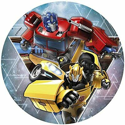 £7 • Buy Edible Transformers Cake Icing Topper