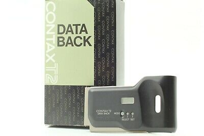$ CDN98.99 • Buy **MINT In Box** CONTAX Kyocera T2 DATA BACK Film Camera Back Cover From JAPAN