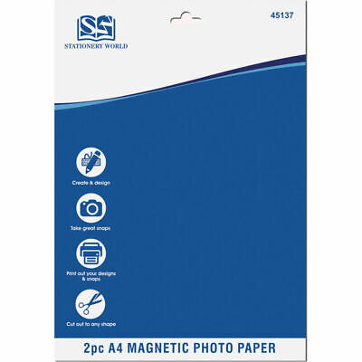 £2.99 • Buy 2pc A4 Magnetic Photo Paper