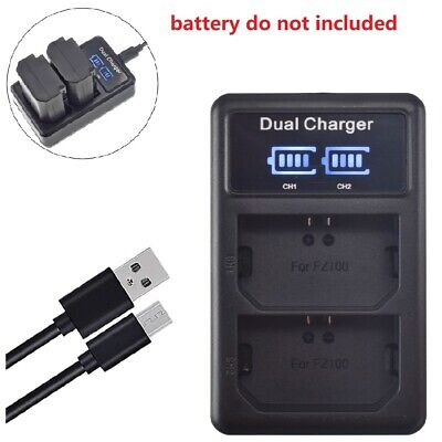 $ CDN10.64 • Buy LCD USB Dual NP-FZ100 Battery Charger For Sony A9 A9R A7R III A7 III BC-QZ1 Cam
