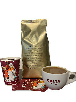 £12.95 • Buy COSTA COFFEE  BEANS GOLD LABEL 1Kg ☕️☕️☕️☕️