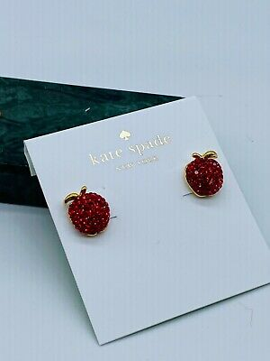 $ CDN22.97 • Buy Kate Spade Red   Earrings Free Shipping