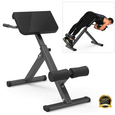 £69.50 • Buy Folding Back Hyper Extension Exercise Bench Hyperextension Fitness Roman Chair