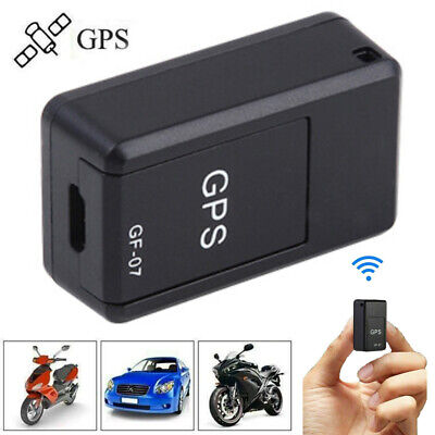 AU16.29 • Buy Mini GF-07 Magnetic Car Vehicle GSM GPRS GPS Tracker Locator Real Time Tracking-