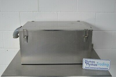 £160 • Buy Grease Trap Stainless Steel 66cm X 46cm X 34cm High FREE DELIVERY