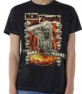 £13.99 • Buy Rob Zombie Born To Go Insane Official Merchandise T Shirt