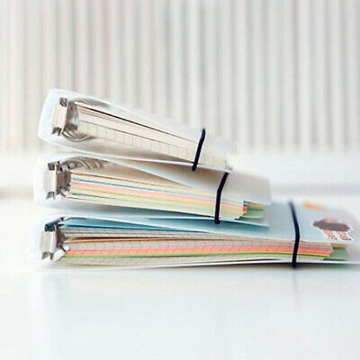 AU6.94 • Buy A5 A6 A7 Spiral Notebook Cover Loose Diary Coil Ring Binder Plan Translucent BS