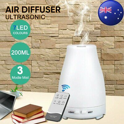 AU14.95 • Buy LED Ultrasonic Aroma Aromatherapy Diffuser Essential Oil Air Humidifier Purifier