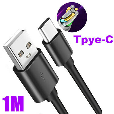 AU1.83 • Buy 5A USB 3.1 Type C Male To USB 3.0 Male Chargers Converter Fast Data Cable Black