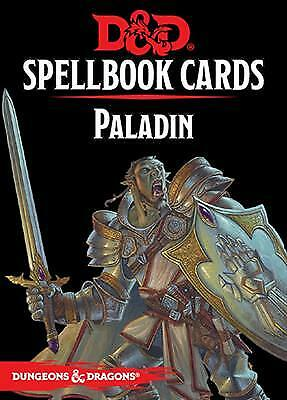 AU12.48 • Buy Dungeons & Dragons Paladin Spelldeck 5th Edition