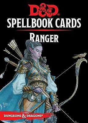 AU8.91 • Buy Dungeons & Dragons Ranger Spelldeck 5th Edition