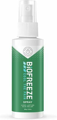 £7.99 • Buy Biofreeze Pain Reliever Spray Cooling Topical Analgesic For Muscle, Joint, 118ml