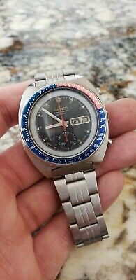 $ CDN699 • Buy Beautiful Seiko 6139-6002  POGUE  Watch *MAKE OFFER*