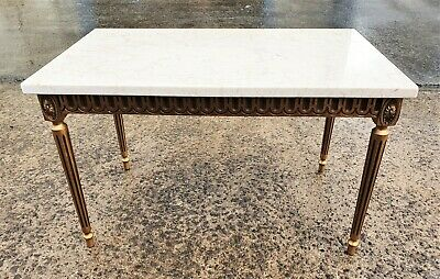 £85 • Buy Vintage French Style Marble Top Coffee Table        Delivery Available