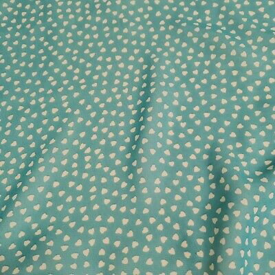 £3.49 • Buy Chiffon Fabric Small Heart Printed 55  Wide Sold By The Metre