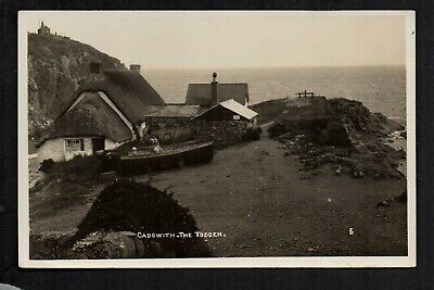 £8 • Buy Cadgwith - The Todden - Real Photographic Postcard