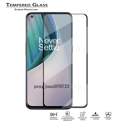 AU6.36 • Buy 9H Full Cover Tempered Glass Protector Guard Film For OnePlus Nord N10 5G