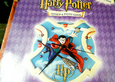 £24.90 • Buy Harry Potter Glow In The Dark Mould And Paint Clock New Boxed Uk