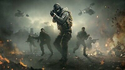 £21 • Buy Call Of Duty Characters Canvas 20x30 Inch Ready To Hang