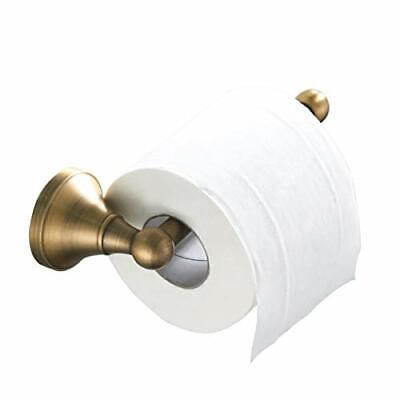 £15.68 • Buy Toilet Roll Holder Without Cover Brushed Brass Bathroom Tissue Bar Wall Mounted