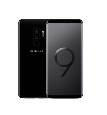 $ CDN461.65 • Buy Samsung Galaxy S9 Plus Black 64GB SM-G965F/DS Unlocked 4G Android Smartphone