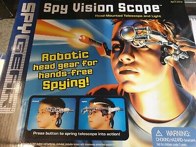 £9.99 • Buy 213 Spy Gear - Spy Vision Scope By Vivid Imaginations - Complete - New