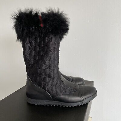 £120 • Buy Gucci Monogram Boots / Snow Boots Size 5