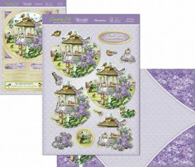 Hunkydory Bird Song Deco Large Decoupage Card Kit P&P Discount • 1.99£