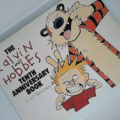 £13.22 • Buy The Calvin And Hobbes Tenth Anniversary Book  By Bill Watterson