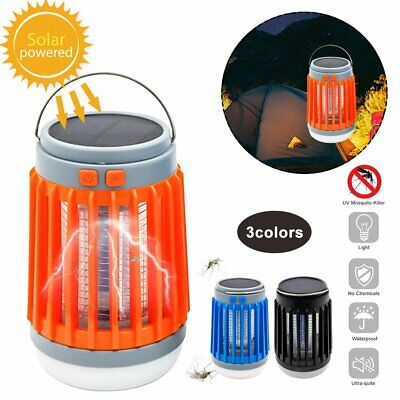 £12.96 • Buy Solar Powered Outdoor Mosquito Fly Bug Insect Zapper Killer Trap Lamp LED @I