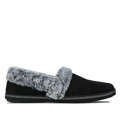 £26.94 • Buy Women's Skechers Cozy Campfire Team Toasty Cushioned Slippers In Black