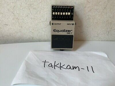 $ CDN86.47 • Buy Boss GE-7 Equalizer Guitar Effect Pedal Preamplifier Booster From Japan JP Used