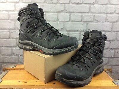 AU100.03 • Buy Salomon Mens Uk 11.5 Eu 46 2/3 Quest 4d 3gtx Gore-tex Black Grey Walking Boots