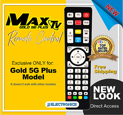 $24.99 • Buy Remote Control ESPECIALLY FOR MAXTV GOLD 5G PLUS
