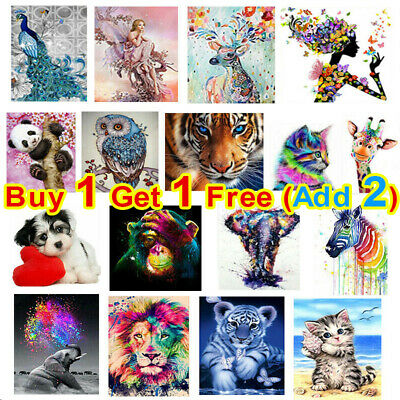 £1.98 • Buy DIY 5D Diamond Painting Embroidery Cross Craft Stitch Pictures Arts Kit Decor UK