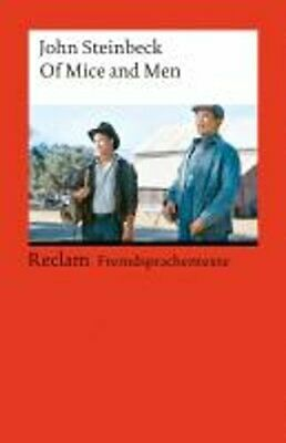 £6.30 • Buy Of Mice And Men By John Steinbeck 9783150092538 | Brand New | Free UK Shipping