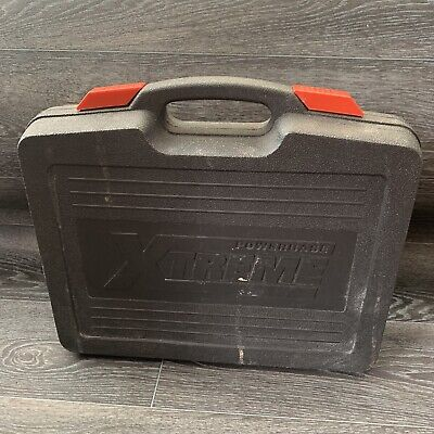 Powerbase Xtreme 2CDP18XP Drill Box Carry Case Only (NO TOOLS) • 5£
