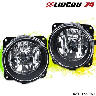 $26.39 • Buy For 03-04 Ford Cobra/05-06 Escape Clear Lens Front Bumper Fog Lights W/Bulbs USA