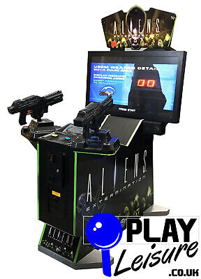 £1795 • Buy Aliens Extermination Arcade Machine - Ready To Play - Games Room Man Cave