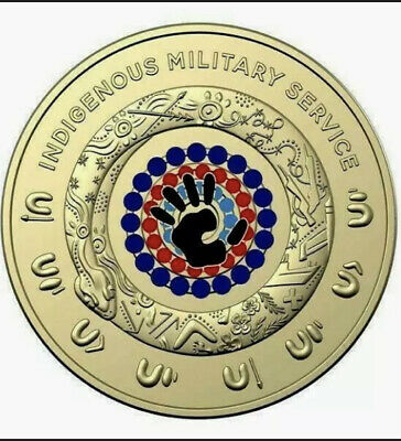 AU16.99 • Buy 2 Dollar2021 $2 INDIGENOUS MILITARY SERVICE COIN⚡️FROM RAM ROLL Two Dollar UNC